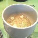 セーラ - 味噌汁(豚汁)