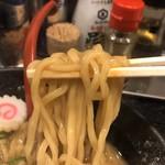 おとど食堂 - 麺 リフトアップ