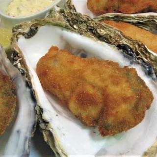 日本一の生牡蠣フライ~剥きたて、揚げたて~