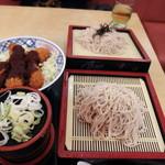 119083617 - ざるかき味噌丼(980円)大盛