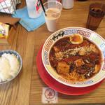 スパイス食堂サワキチ - 豚骨麻婆麺 \850