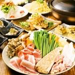 とりひめ - 【選べる鍋(塩ちゃんこor味噌ちゃんこ)】コース 120種類飲み放題付き 3,500円(税別)