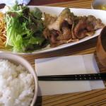 黒川食堂 - 生姜焼き