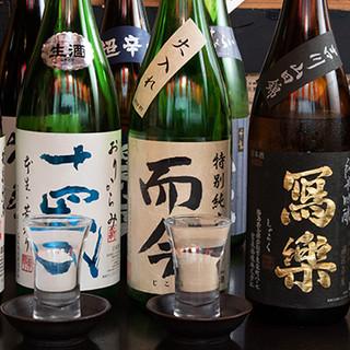 獺祭など約150種の日本酒&種類豊富なレモンサワーをご用意。