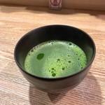 北浜あなごや 日本酒と酒肴 - 緑茶