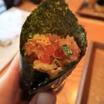 119099698 - 海苔で手巻き寿司