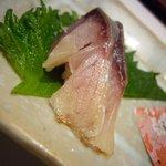 1191283 - 前菜3種盛(〆鯖)