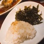 炭火焼肉・韓国料理 KollaBo - ライス・海苔