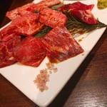 炭火焼肉・韓国料理 KollaBo - 極上希少部位盛り合わせ(小)