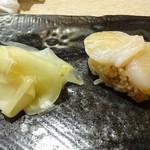 豊鮨 - 料理写真:ホタテ