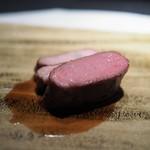 エクアトゥール - 料理写真:フランス産仔羊のロースト ジュのソース