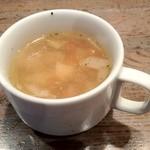 ワイン食堂 グリッツ - スープ