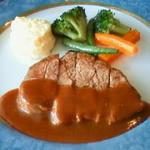 ぎんぎん - 牛フィレのステーキ