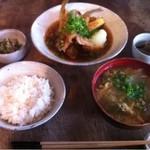 Bure - シロギスの揚げ出し定食
