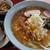 滝沢食堂 - 料理写真:味噌ラーメンと鮭おにぎり