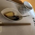 肉処 和匠 - デザートとほうじ茶