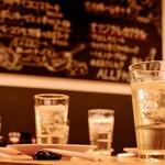 ミツフジダイニング - ハイボールやレモンサワーが良く出ます。お酒がすすむ料理を多数用意してます