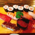 春駒 - 料理写真:上握り寿司
