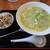 ラーメン幸味 - 料理写真:鶏そば¥715、半チャーマヨ飯¥165