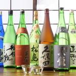 飲み喰い道楽 男魚魚 - 豊富な日本酒のラインナップ。お好みの1杯を探してください。
