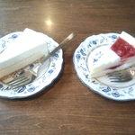 カフェドルチェ - ケーキ