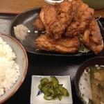11912956 - 鶏の唐揚げ定食(980円)