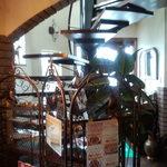 カフェドルチェ - 2階への階段です