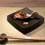 神戸炉釜工房 - ★神戸牛肩ロースの炙り一口寿司