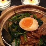 11913291 - ランチ:豚角煮、デザート