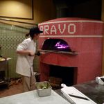 イタリア食堂 クッチーナ - 薪窯です