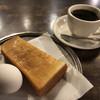 Hakuchiyou - 料理写真:ホットコーヒー400円とモーニング