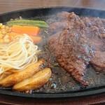 ギャラリーレストラン ハンバーグ工房 古賀 - カットステーキ200g