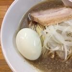 煮干中華ソバ イチカワ - 中華そば+味玉