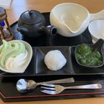 茶通仙 多田製茶 - お茶を満喫できるセットです。