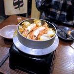 穂卓 - 和風海鮮パエリア(二人前 1,580円)