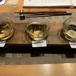 119157675 - 【2019.9.15】梅酒飲み比べセット800円
