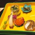 嵐渓荘 - 前菜