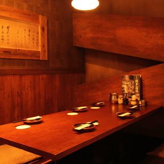 会社宴会や少人数でのご利用可能なお部屋をご用意しております!