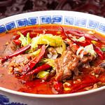 知音食堂 - 料理写真:水煮牛肉