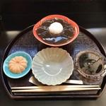 Kammidokoroamahiro - 生わらびもち 1000円(税込)