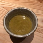 焼鳥 せきや - 鶏スープ