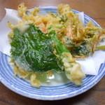 寿得広 - 季節の野菜天ぷら