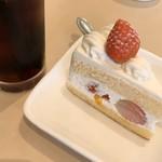カフェ ラ・ベルファム - 料理写真:ショートケーキ