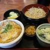 松月庵 - 料理写真:たまごどんセット