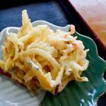 太郎うどん - 野菜のかきあげ