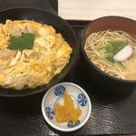つばき - 親子丼定食(五島うどん)