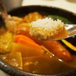 ひげ男爵 - 肉男爵(スープ&ライス)