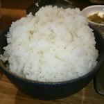 ハオツー 中華料理 - ご飯アップ