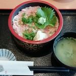 伊豆太郎 - ねぎトロ丼 1680円