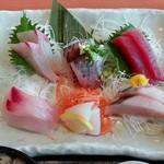 伊豆太郎 - 刺身盛合せ定食